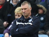 Leicester manager Nigel Pearson on May 9, 2015