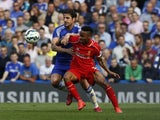 Raheem Sterling in action for Liverpool on May 10, 2015