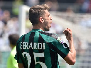 Sassuolo stun Inter with late penalty