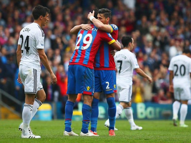 Result: Palace edge out Swansea with Chamakh goal