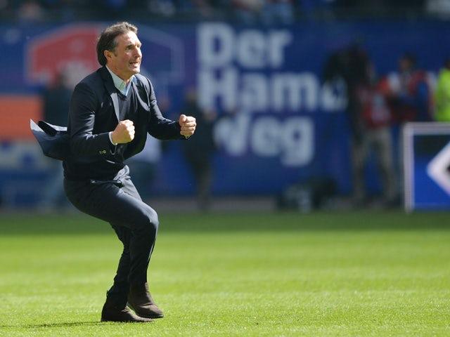 Result Hamburger Sv Beat Schalke 04 But Will Play In A