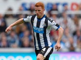 Jack Colback in action for Newcastle United against West Ham on May 24, 2015