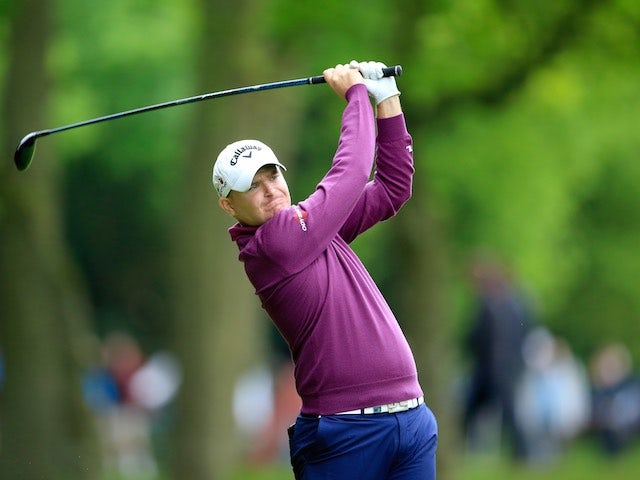 James Morrison on day two of the BMW PGA Championship on May 22, 2015