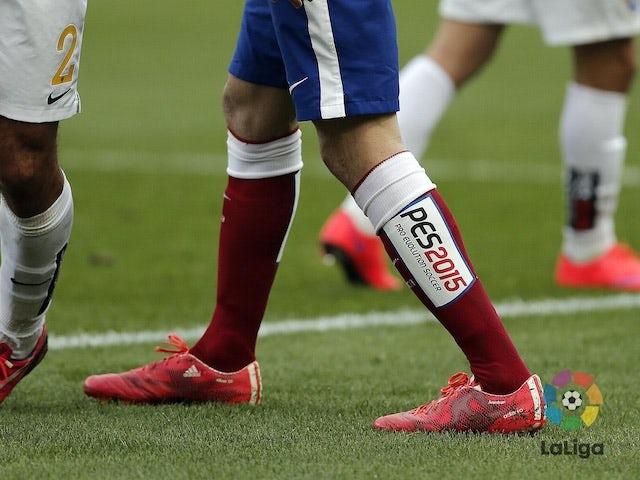 La Liga socks with PES2015 sponsorship