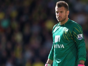 Mark Bunn to leave Norwich City