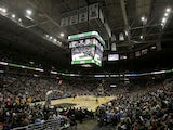 General view of the Cleveland Cavaliers playing against the Milwaukee Bucks at Bradley Center on November 3, 2012