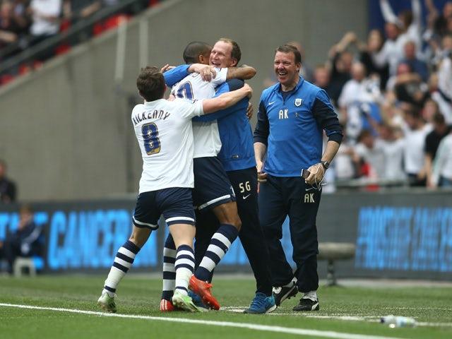 Result: Beckford fires Preston to promotion