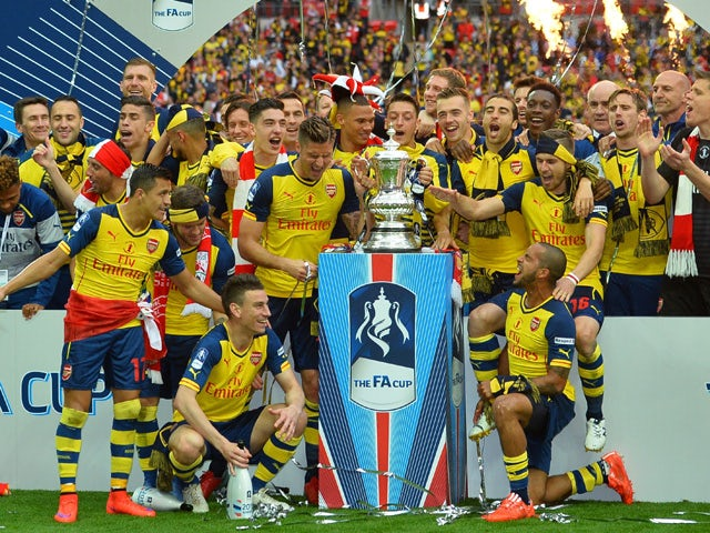 Result: Arsenal thrash Villa to win record 12th FA Cup