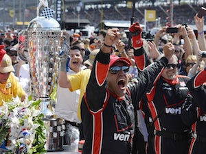 Montoya wins second Indianapolis 500