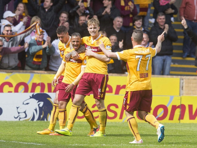 Result: Rangers lose out to Motherwell