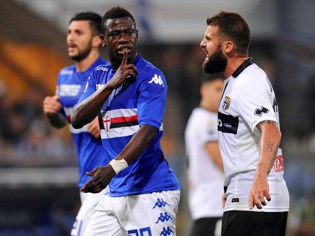 Result: Varela scores late to deny Sampdoria win