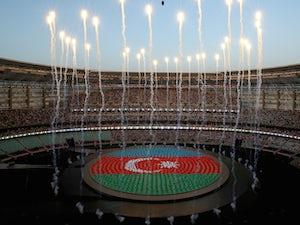Azerbaijan wrestler revels in gold
