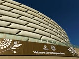 A general view of the Baku Olympic Stadium