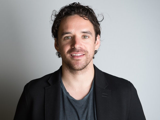 Owen Hargreaves poses for a BT Sport photo