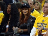 Singer Rihanna attends Game One of the 2015 NBA Finals between the Golden State Warriors and the Cleveland Cavaliers at ORACLE Arena on June 4, 2015