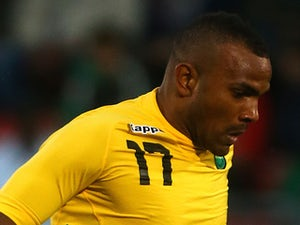 Rodolph Austin of Jamacia during the International Friendly match between Jamacia and Egypt at The Matchroom Stadium on June 04, 2014