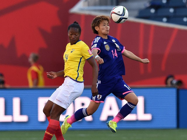 Result: Japan ease past lively Ecuador