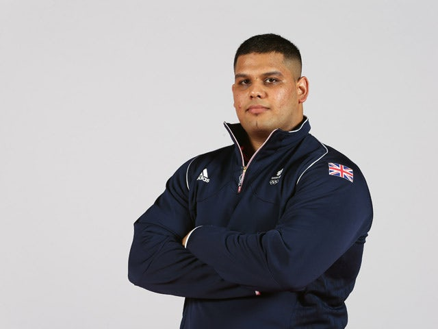 Chinu of Team GB during the Team GB kitting out ahead of Baku 2015 European Games at the NEC on June 2, 2015
