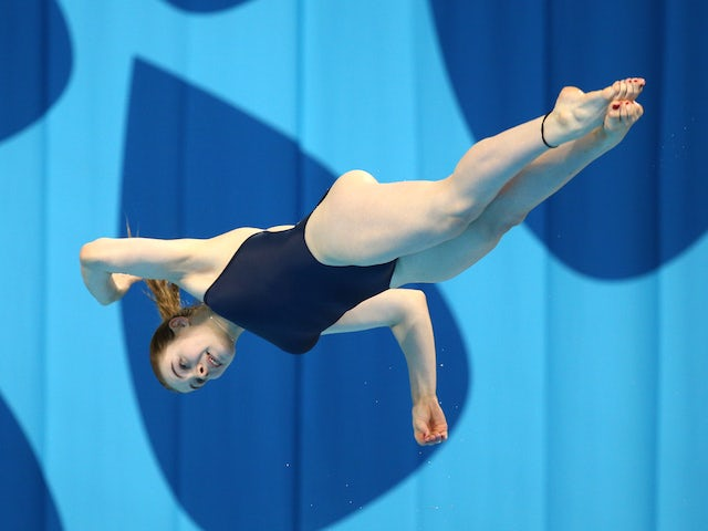Team GB's Katherine Torrance in action during the women's 1m final at the European Games on June 19, 2015