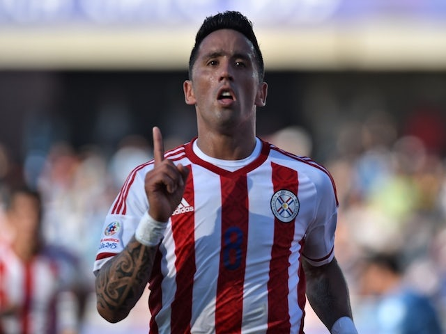 Result: Barrios equaliser earns draw for Paraguay