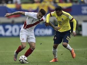 Colombia held by Peru in Copa America clash