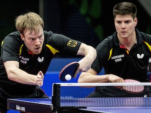 Germany battle to table tennis gold