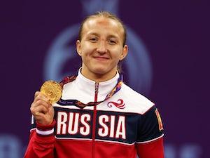 "Lazinskaia ""proud"" of gold medal win"