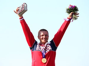 """Russian shooter """"very happy"""" with gold medal success"""