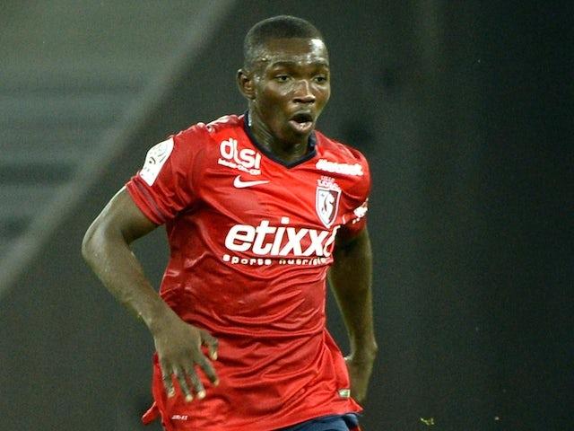 Lille's Spanish midfielder Adama Traore plays on October 18 2014