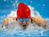 Amelia Clynes of Great Britain competes in the Women's 200m Butterfly during day eleven of the Baku 2015 European Games at the Baku Aquatics Centre on June 23, 2015