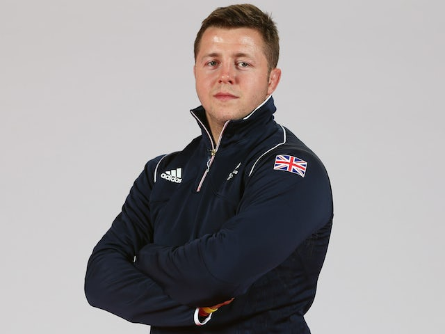 Ben Fletcher of Team GB during the Team GB kitting out ahead of Baku 2015 European Games on May 26, 2015