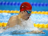 Team GB swimmer Charlie Attwood in action at the European Games on June 23, 2015