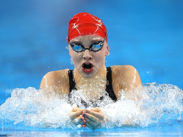 Team GB swimmer Emma Cain in action at the European Games on June 24, 2015