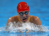 Team GB swimmer Joe Hulme in action at the European Games on June 24, 2015