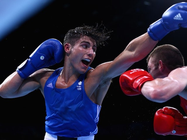 Team GB boxer Josh Kelly in action at the European Games on June 23, 2015