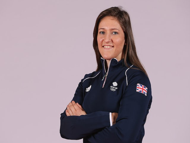 Natalie Powell of Team GB during the Team GB kitting out ahead of Baku 2015 European Games on May 26, 2015