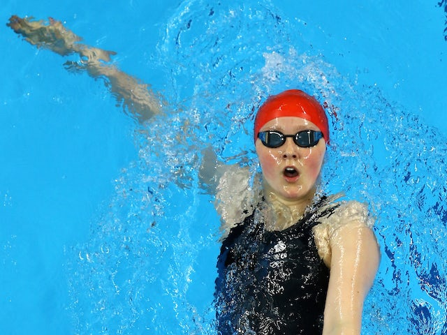 Rebecca Sherwin of Great Britain competes in the Women's 200m Backstroke heats during day eleven of the Baku 2015 European Games at the Baku Aquatics Centre on June 23, 2015