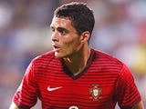 Tiago Ilori of Portugal in action during the UEFA Under21 European Championship 2015 Group B match between England and Portugal at Mestsky Fotbalovy Stadium on June 18, 2015