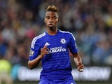 Chelsea's Charly Musonda enters onto the field of play against Sydney FC at the ANZ Stadium in Sydney on June 2, 2015