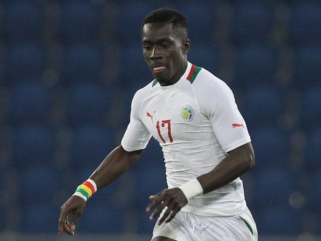 Senegal's Idrissa Gueye controls the ball during the International Friendly football match between Senegal and Ghana on March 28, 2015