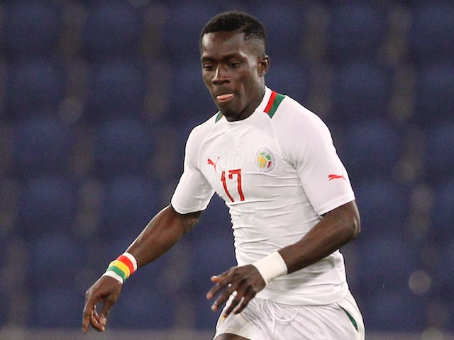 Senegal's Idrissa Gueye controls the ball during the International Friendly football match between Senegal and Ghana on March 28, 2015