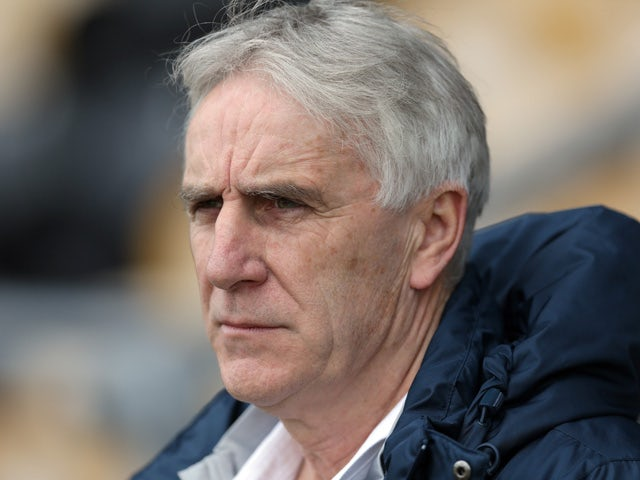 John Peacock England U17 Head Coach during the U17 Euro Elite Qualifying Round match between England and Norway at the Pirelli Stadium on March 21, 2015