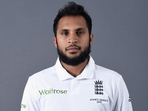 Adil Rashid poses during an England portrait session in July 2015