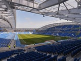 General view of the Amex Stadium prior to the npower Championship Play Off Semi Final Second Leg between Brighton & Hove Albion and Crystal Palace at Amex Stadium on May 13, 2013