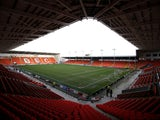 General stadium view prior the Sky Bet Championship match between Blackpool and Bournemouth at Bloomfield Road on December 20, 2014