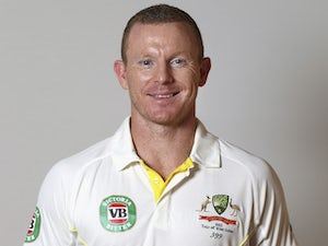 Chris Rogers poses during an Australia portrait session in May 2015