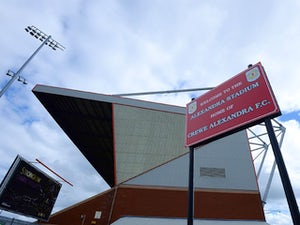 A general view of The Alexandra Stadium ahead of the Sky Bet League One match between Crewe Alexandera and Peterborough United on September 7, 2013