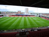 A general view of The Alexandra Stadium ahead of the Sky Bet League One match between Crewe Alexanders and Peterborough United on September 7, 2013