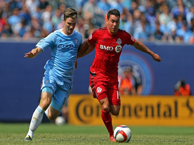 Result: Late New York City FC goals down DC United