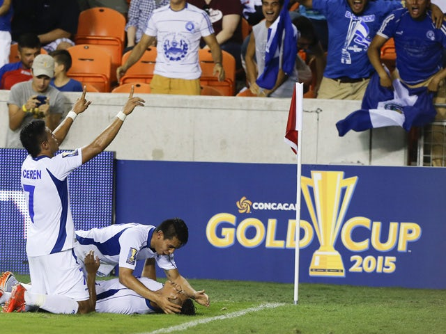 Result: El Salvador score late to earn draw
